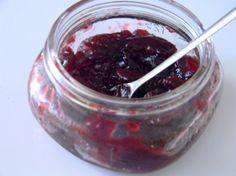 Sweet Cherry Preserves (Low Sugar)