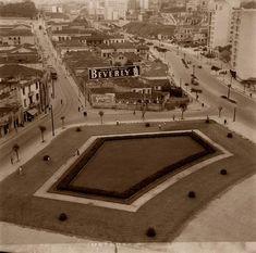 Praça da Bandeira, s/d. Hagop G. São Paulo do Passado