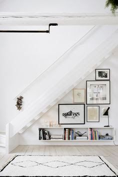hanging.plants under stairs - Google Search