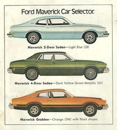 My brother had one of these.. FORD MAVERICK-1974- taught me how to drive in it.