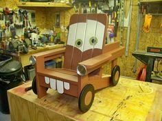 DIY Pallet Tow Chair
