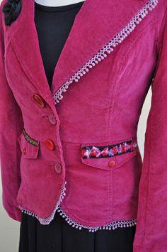 Accessories, Fashion, Jackets, Denim Bag, Wool Felt, Fashion Ideas, Lingerie, Moda, Fashion Styles