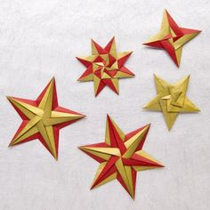 Origami Stars by Tomoko Fuse