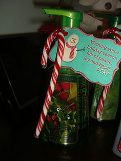 Christmas Teacher Gifts. Simple and cute!!!