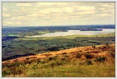 Le lac de Brennilis vu depuis la montagne Saint-Michel - Bretagna