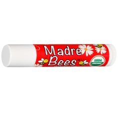 Madre Bees, Hemp, Organic Pomegranate, Lip Balm, .15 oz (4.25 g) - 1st time buyers save $10 off orders of $40 and more and $5 off orders less than $40 at iherb.com with discount code ATA717