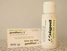 two tiny terrors: Kiss My Itch Goodbye, Review - real relief from insect bites