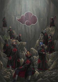gambar akatsuki, naruto, and anime Naruto Shippuden Sasuke, Naruto Kakashi, Anime Naruto, Manga Anime, Sasuke Sakura, Gaara, Otaku Anime, Boruto, Madara Uchiha