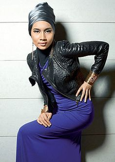 Yuna Zarai ♥ on Pinterest   Hijabs, Turbans and Singers