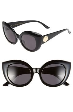 CRAP Eyewear 'The Diamond Brunch' 55mm Sunglasses | Nordstrom
