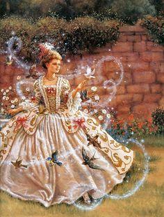 Cinderella. By Ruth Sanderson.