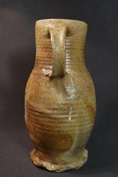 Medieval pottery Siegburg jug - H 228