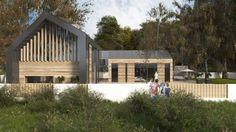 Dom w Gdyni - Marek + Sikora Architektura Domy z wnętrzem