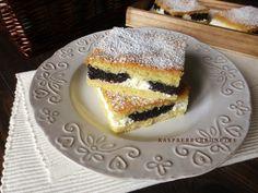 Raspberrybrunette: Jemný tvarohovo-makový koláč