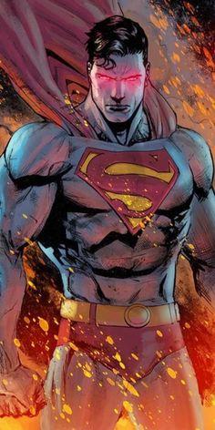 Nerdss Hub: Superman wallpapers for mobile Marvel Dc Comics, Dc Comics Art, Batman Vs Superman, Superman Man Of Steel, Batman Arkham, Batman Art, Batman Robin, Comic Art, Comic Manga