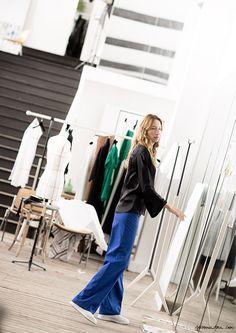 Before the Show / Sarah Murray, Casting Director / Garance Doré