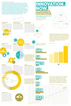 Canada Foundation for Innovation Infographic Poster/Brochure