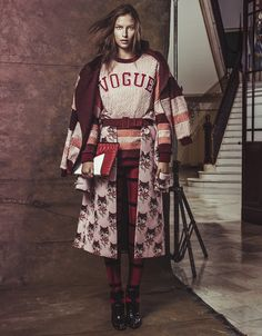 Fernanda Liz, Nathalia Novaes by Jacques Dequeker for Vogue Brazil April 2014