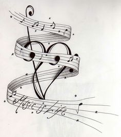 ideas music tattoo drawings ink for 2019 Music Tattoo Designs, Design Tattoo, Music Tattoos, Life Tattoos, Body Art Tattoos, Tatoos, Key Tattoos, Foot Tattoos, Flower Tattoos