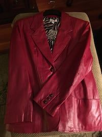 28a071951c255 Used Red Leather Blazer for sale in Decatur