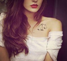 2014 Divergent ve, selfless, intelligent,honest, kind tattoo on collarbone - Li tattoo