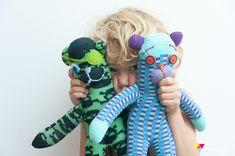 DIY Sock monkeys and bears, oh my!