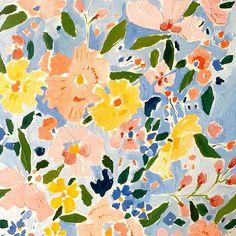 Floral Pattern Design - Trend Topic For You 2020 Motifs Textiles, Pattern Illustration, Pattern Wallpaper, Gouache, Art Inspo, Pattern Design, Art Projects, Floral Prints, Artsy