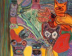 """Desde el 10 de agosto, a las 19hs se inaugura la muestra de pinturas de Agustina Mazzocco en la Galeria Zamora (Guido 1831 CABA). [caption id=attachment_12375 align=alignleft width=300] Cacería, técnica mixta, 150 x 150 cm[/caption] Sus coloridas pinturas representan a la naturaleza en su estado más puro, sus figuras en primer plano ponen de relieve a los animales de nuestra fauna trayendo a la memoria los """"Cuentos de la selva"""" de Horacio Quiroga aunque, su verdadero me..."""