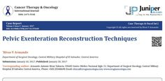 Reconstruction surgical techniques for Pelvic Exenteration and Vaginectomies.