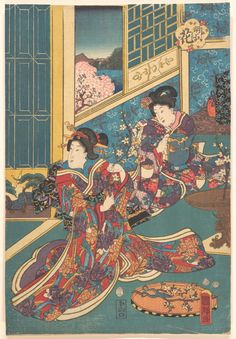 by Utagawa Kuniteru, Asian Art  Medium: Polychrome woodblock print; ink and color on paper  The Metropolitan Museum of Art Metropolitan Museum of Art, New York, NY  http://www.metmuseum.org/art/collection/search/58260