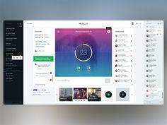 "Musilla ""Inner Game Page"" #UI/UX Design"