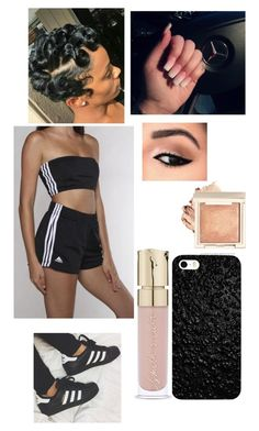 """""""Untitled #73"""" by kimberlyox3 on Polyvore featuring adidas"""
