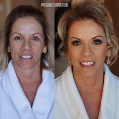 Makeup, before and after, natural makeup