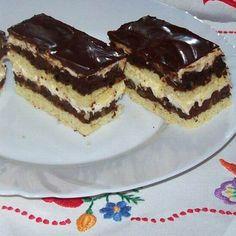 Hungarian Desserts, Hungarian Recipes, Torte Cake, Nutella, Tiramisu, Bakery, Food And Drink, Cooking Recipes, Cookies