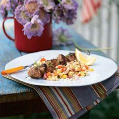 Orzo, Corn, and Roasted Bell Pepper Salad Recipe