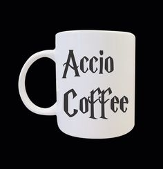 Accio Coffee mug by SidooRondo on Etsy