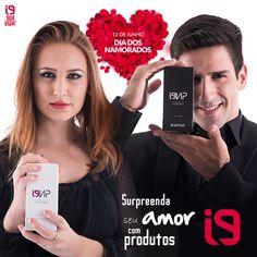 ✨✨ Deixou o presente para última hora? Surpreenda seu amor com os perfumes i9Vip importados da França com as principais fragrâncias mundiais de altíssima qualidade! O amor está no ar ❤   Acesse o Site :  www.perfumesi9.com.br
