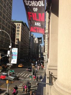 Summer at New York Film Academy in Union Square.
