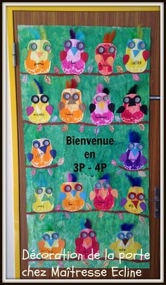 1000 images about d coration de la classe on pinterest for Decoration porte classe etoile