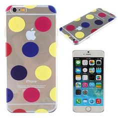 Colorful Balloons Pattern Transparent PC Hard Cover for iPhone 6 – BRL R$ 10,23