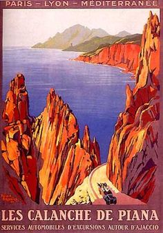 Les Calacnche de Piana by Roger Broders (1923)