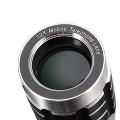 Orsda 12X Universal HD Metal Telephoto Telescope Lens+Metal Lens Holder+Tripod For Smartphone Sale - Banggood.com