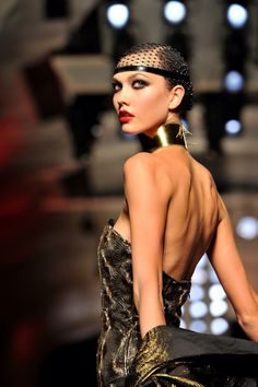 empress-empire:[Karlie Kloss]Jean Paul Gaultier {Fall/Winter 2012}