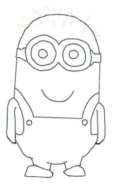 Sassy image for minion template printable