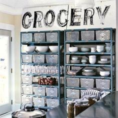 11 Reasons Metal Shelving Isn't Just for Your Garage First dress up your metal shelves with a coat of paint in an accent color that compleme...