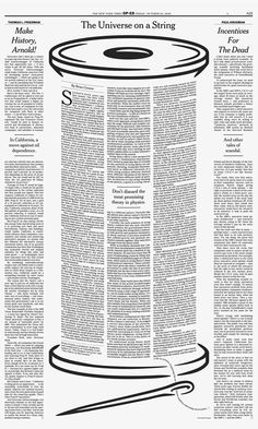 Print is not dead...New York Times Op Ed by Brian Rea