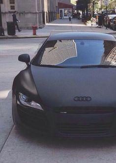 Audi R8 matte black Let #Rvinyl Help Make Your Car a #DreamCar