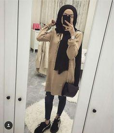 Hijab Fashion, Women's Fashion, Turban Hijab, Snapchat, Fur Coat, Tights, Jackets, Clothes, Projects