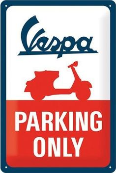 Vespa Parking Only Scooters Vespa, Vespa Ape, Piaggio Vespa, Vespa Lambretta, Motor Scooters, Illustration Vespa, Chevrolet Truck, Vespa Logo, Motorcycle Memes