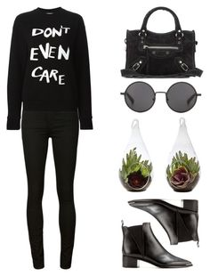 """""""#482"""" by missad3 ❤ liked on Polyvore featuring Citizens of Humanity, Être Cécile, Acne Studios, Balenciaga and The Row"""